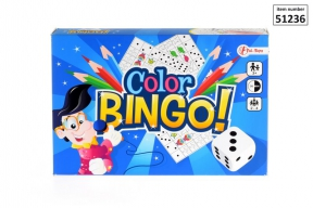 EAN 8714627512366 -  Color Bingo
